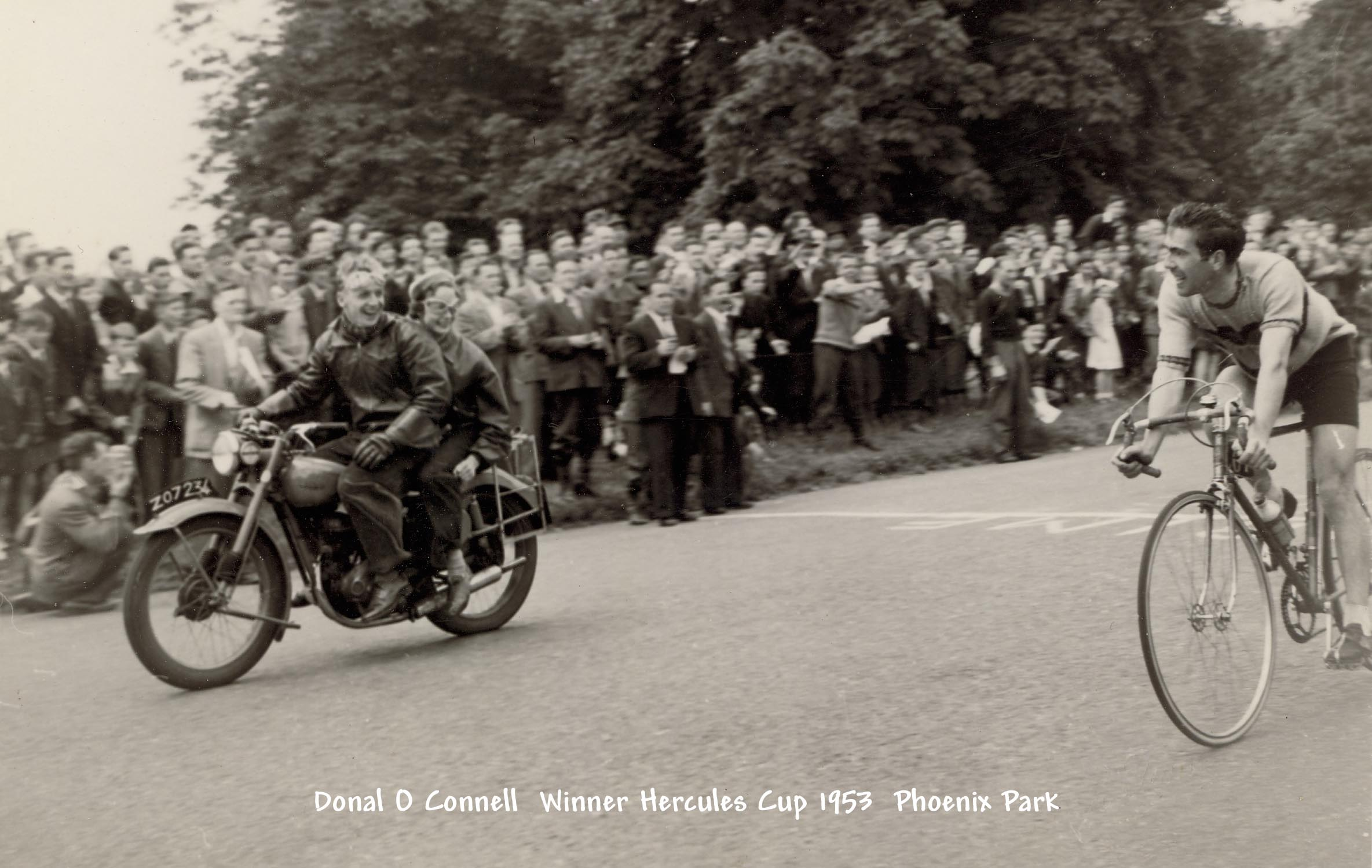 Donal O'Connell Hercules Cup 1953